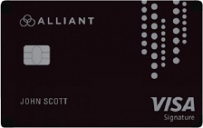 Alliant Cashback Visa Signature Credit Card