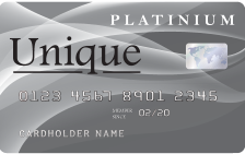 Unique Platinum Card