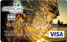 American Savings Bank Platinum Edition Visa Card