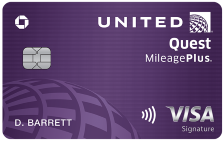 United Quest Visa Signature Card