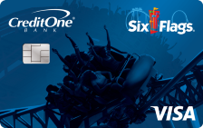 Six Flags® Rewards Visa