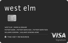 West Elm Key Rewards Visa