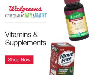 Walgreens Vitamins & Supplements