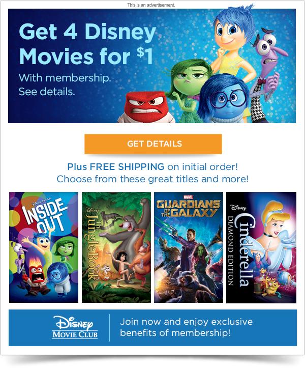 LOGIN - Disney Movie Club - Disney movies on Blu-ray