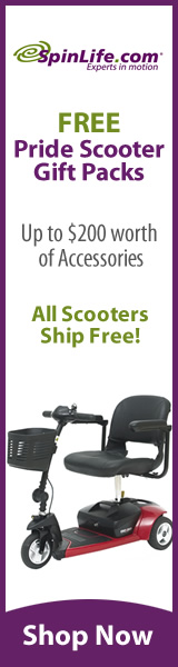 Get Your Mobility Scooter at SpinLife Today!