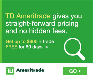 Investing 1000 dollars in TD Ameritrade ETFs