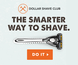 discount razors from dollar shaving club