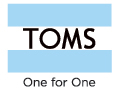 TOMS coupon code and free shipping