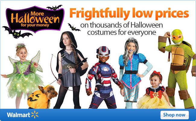 Walmart Halloween Blowout, Nook eReaders $20 Off  , Flowers 20% Off, Hotels 40% Off,