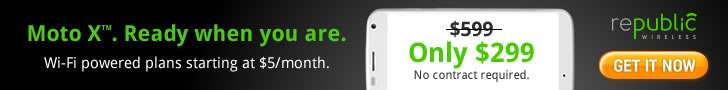 Moto X. Ready when you are. WiFi powered plans starting at $5/month. Get it now