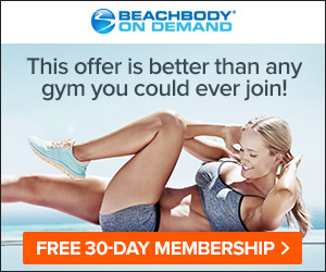 Try Beach Body top programs free for 30 days including: 21 Day Fix Extreme, P90X, Insanity, TurboFire