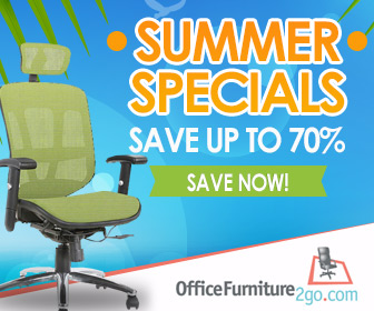 Up To 10% Cash Back At Office Furniture 2 Go | Democracy Delivered