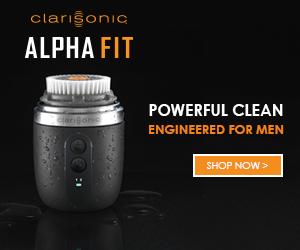 alpha fit clarisonic banner