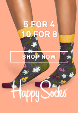 Happy Socks Discount Code