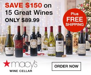 Macy's Wine advert