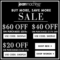 Jean Machine Discount Code