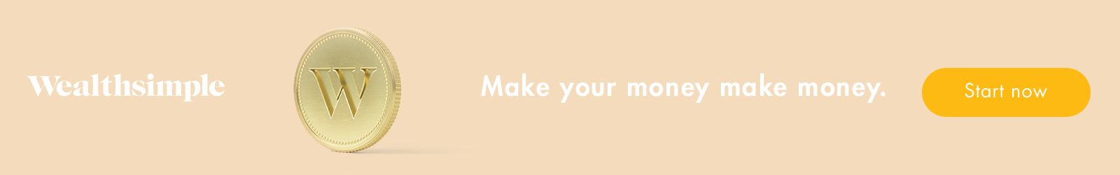 Wealthsimple Banner - Make your money make money.