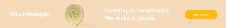 Wealthsimple Banner - Investing is Complicated. We make it simple.