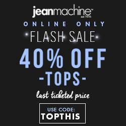 Jean Machine Coupon Code