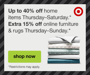 Save up to 40% off home + an