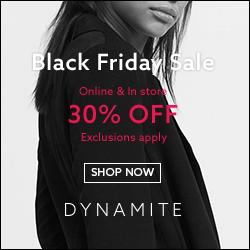 Dynamite Clothing Promo Code