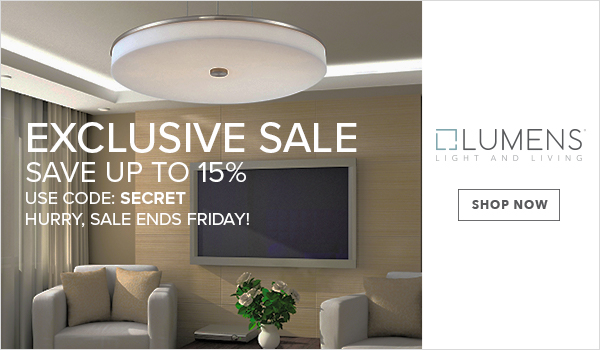 Save up to 15% on Modern