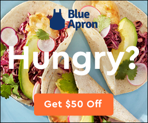 $50 Off Blue Apron