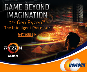 GAME BEYOND IMAGINATION! 2nd Gen AMD Ryzen. The Intelligent Processor. Get Yours at Newegg.com