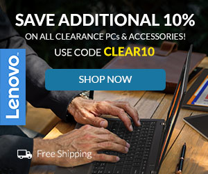 Use Code CLEAR10 SAVE ADDITIONAL 10% on all Clearance PC`s and Accessories!