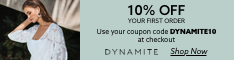 (US) Enjoy 10% off your first