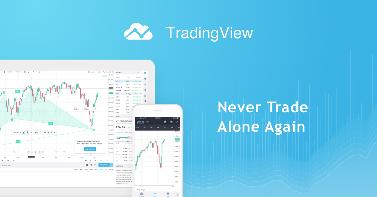 TradingView - Never Trade Alone