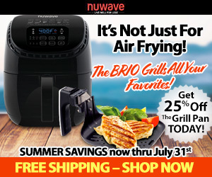 Grill With Your NuWave Brio!
