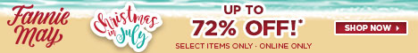 Up to 72% off - it's Xmas in