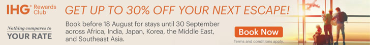 Discount on IHG Hotels