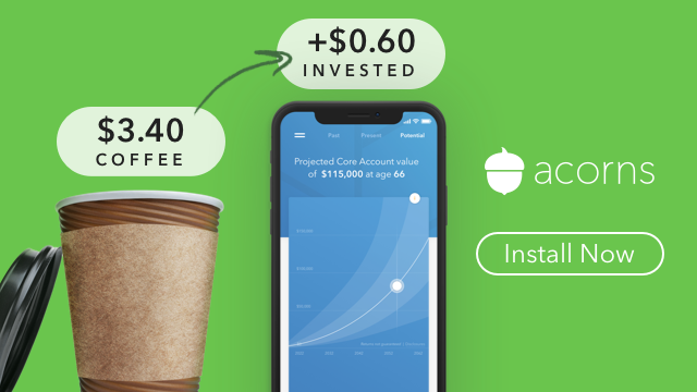 get free cash from acorns