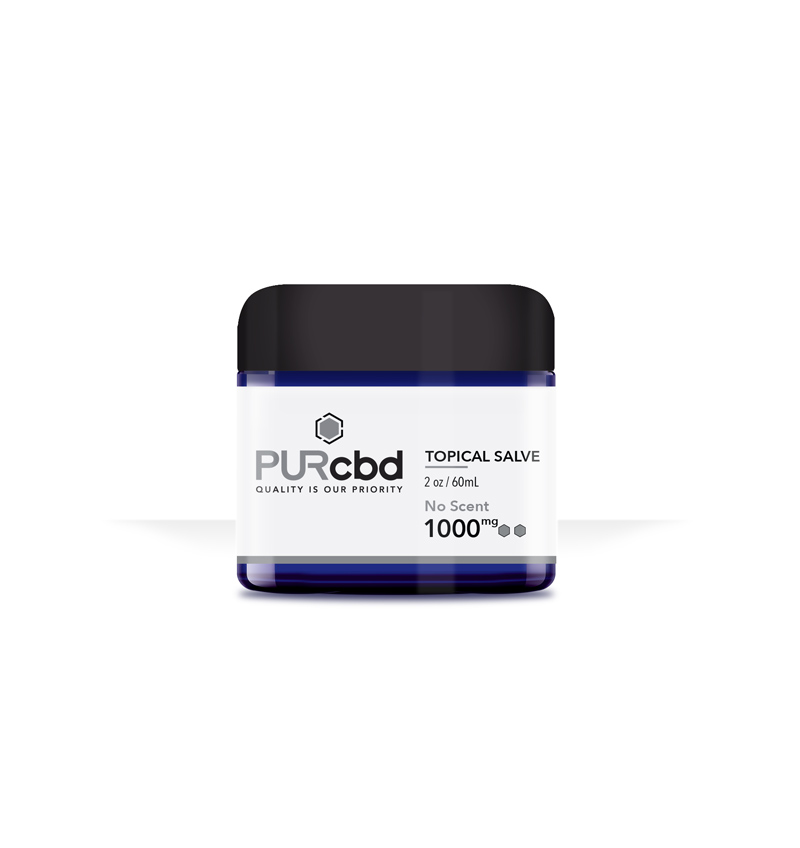 Purcbd topical salve banner