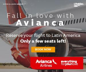 Book your flight on Avianca!