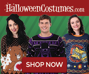 Ugly Christmas Sweaters + More Halloween Costumes!