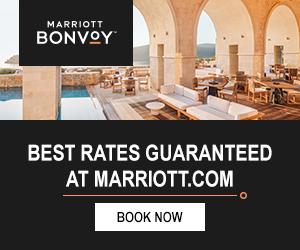 Marriott Hotel-Best Rates sign