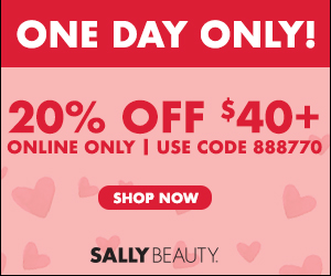 Sally Beauty Supply online coupons military discounts promo code