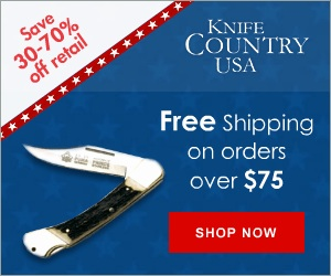 Save 30-70% Off Retail at Knife Country USA! Shop Now