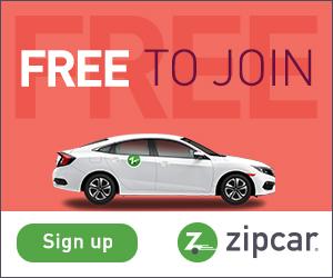 Une alternative à la location de voiture avec Zipcar