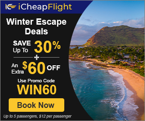 Sizzling Hot Winter Escape Deals: Up to 30% off + Extra $60 off
