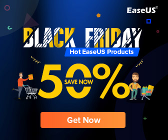EaseUS: Black Friday Sale: Save Up to 50% off & also Get 20% off