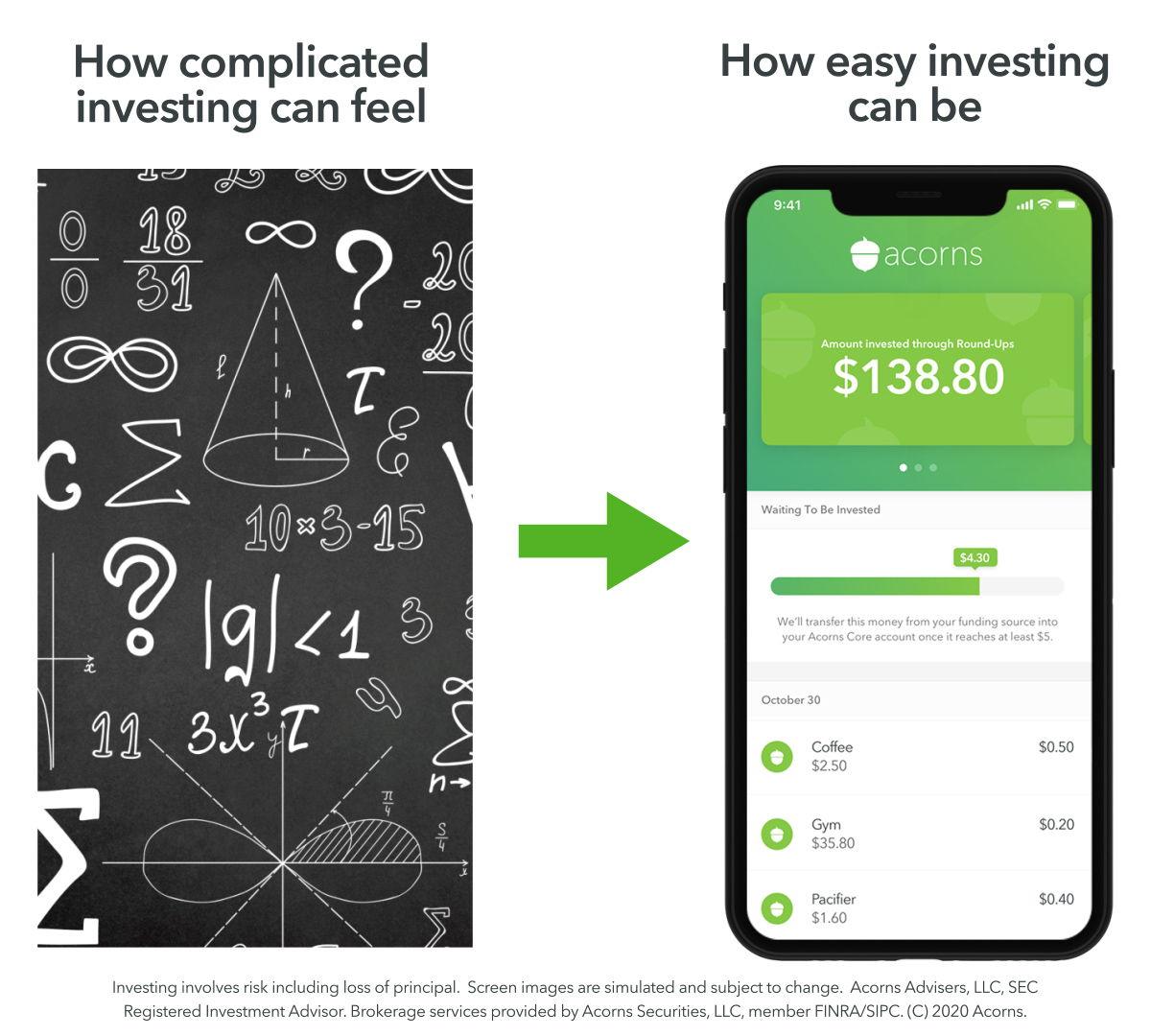 Acorns to start investing and make $5 instantly