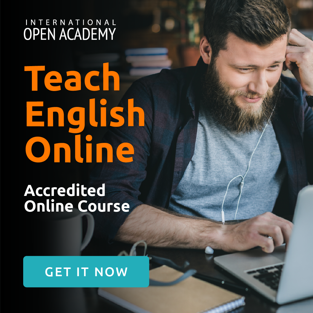 TESOL accredited course by International Open Academy