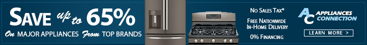 Save Up to 65% on Appliances