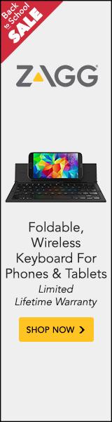 ZAGG's Pocket keyboard fits