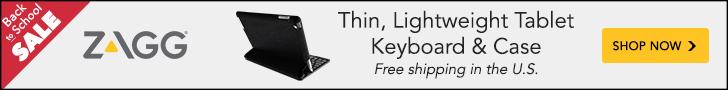 ZAGG's Slimbook keyboard &