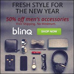 50% off Men's Accessories